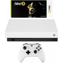Xbox One X robot wit incl. Fallout 76 USK 18