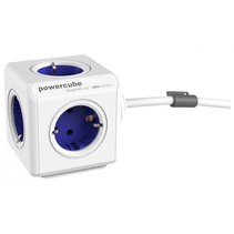 PowerCube Extended incl. 1,5 m kabel blauw Type F