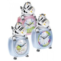 26637 kinderwekker motief zebra    kleur gesorteerd