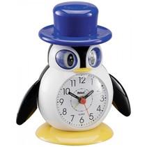 26514 kinderwekker motief pinguin