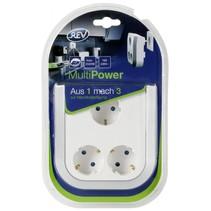 MultiPower 3-voudig contactdoos verlenging