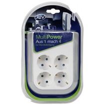 MultiPower 4-voudig contactdoos verlening