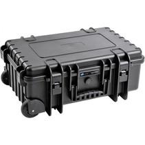B&W Outdoor Case Type 6600 B zwart met vakverdeling RPD