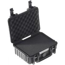 B&W Outdoor Case Type 500 zwart met schuiminleg
