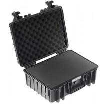 B&W Outdoor Case Type 5000 zwart met schuiminleg