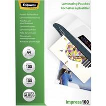 Lamineerfolie A4 100 mic glanzend - 100 stuks