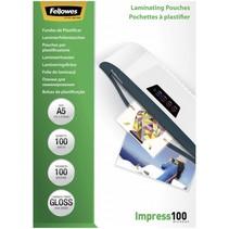 Lamineerfolie A5 100 mic glanzend - 100 stuks