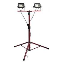 LED bouwlamp slim Worklight met statief 2 x 15 W