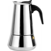 Espressomaker Trevi rvs/6 kopjes      LV113003