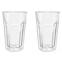 glas dubbelwandig Latte Macchiato set v 2  LV01516