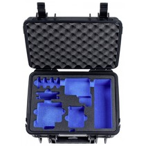 B&W Outdoor Case Type 1000/B zwart met GoPro 5 / 6 inleg