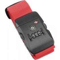 Olympia kofferband TSA 200 rood
