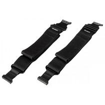 QARDIO Strap 2-delige set zwart voor  Core