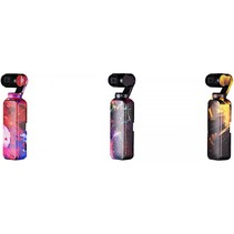 Skin sticker 3-dlg set COLOUR voor DJI Osmo Pocket