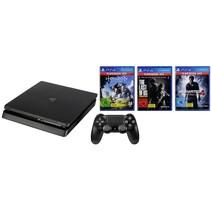 Playstation 4 Slim 1TB mit 3 Spielen Hits Bundle USK 18