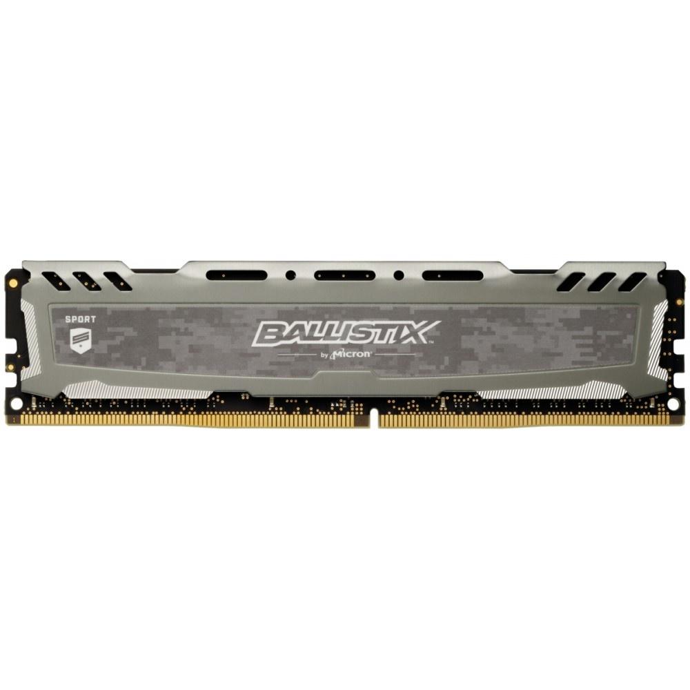 Afbeelding van Ballistix Sport LT 4GB DDR4 2666 MT/s DIMM 288pin grijs