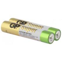1x2 Super Alkaline AAAA batterijen    03025AC2