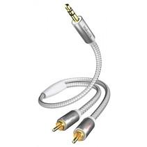 Premium Audio kabel 3,5 mm Cinch Cinch 3,0 m