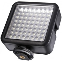 pro LED-videolamp 64 dimbaar