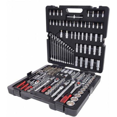 KS Tools 1/4 +3/8 +1/2 Steckschlüssel-Satz 216-tlg.