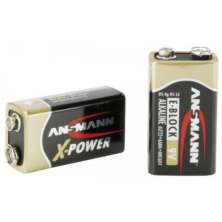 Ansmann 1  Alkaline 9V-Block X-Power