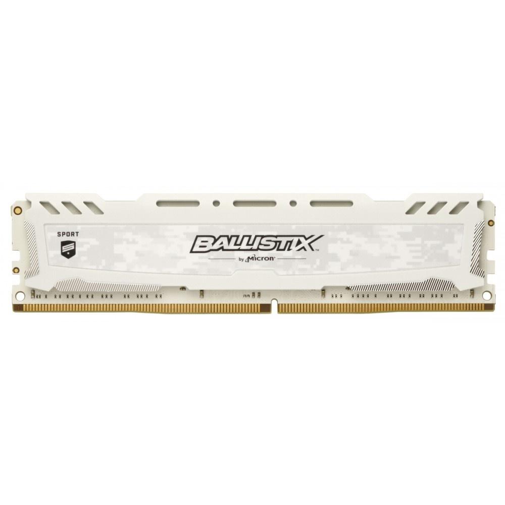 Afbeelding van Ballistix Sport LT 8GB DDR4 2666 MT/s DIMM 288pin wit SR
