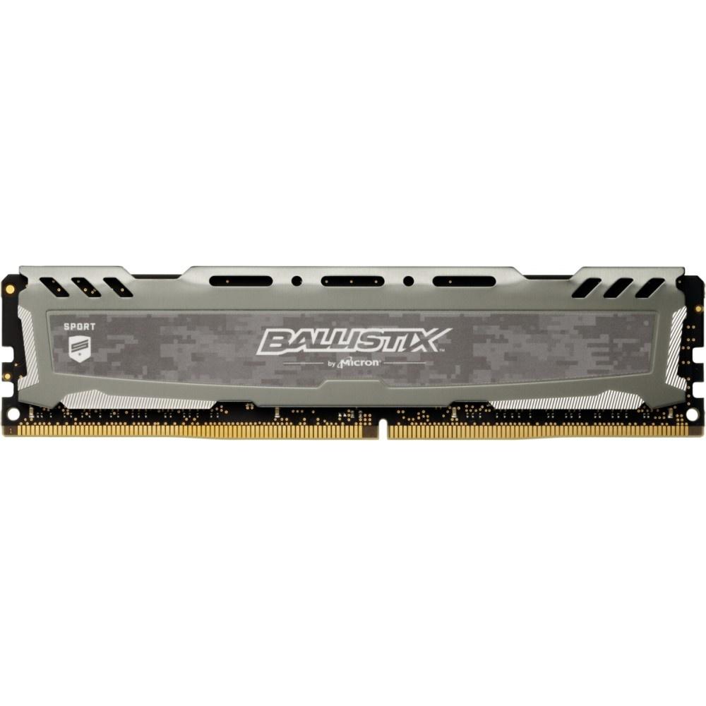 Afbeelding van Ballistix Sport LT 16GB DDR4 3000 DIMM 288pin grijs DR CL15