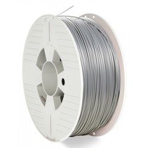 3D Printer Filament PLA 1,75 mm 1 kg silver/metal grey