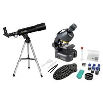 telescoop + microscoop compact met Smartphonehouder