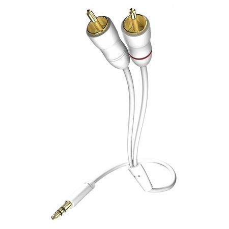 Inakustik in-akustik Star Audio kabel 3,5 mm Cinch - Cinch 5,0 m