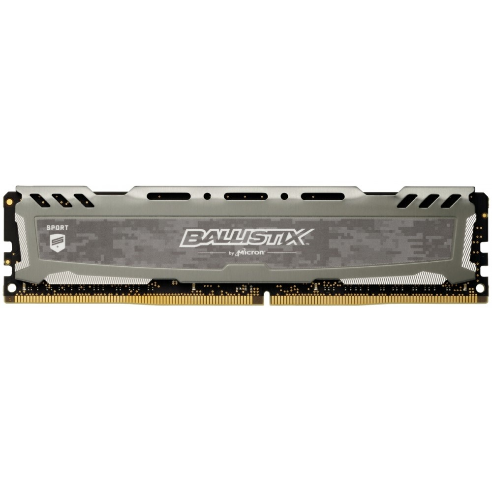Afbeelding van Ballistix Sport LT 16GB DDR4 2400 MT/s DIMM 288pin grijs