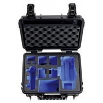 B&W Copter Case Type 3000 B zwart met DJI Mavic 2 Inlay
