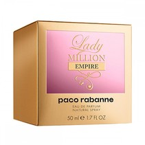 lady million empire eau de parfum 50ml spray