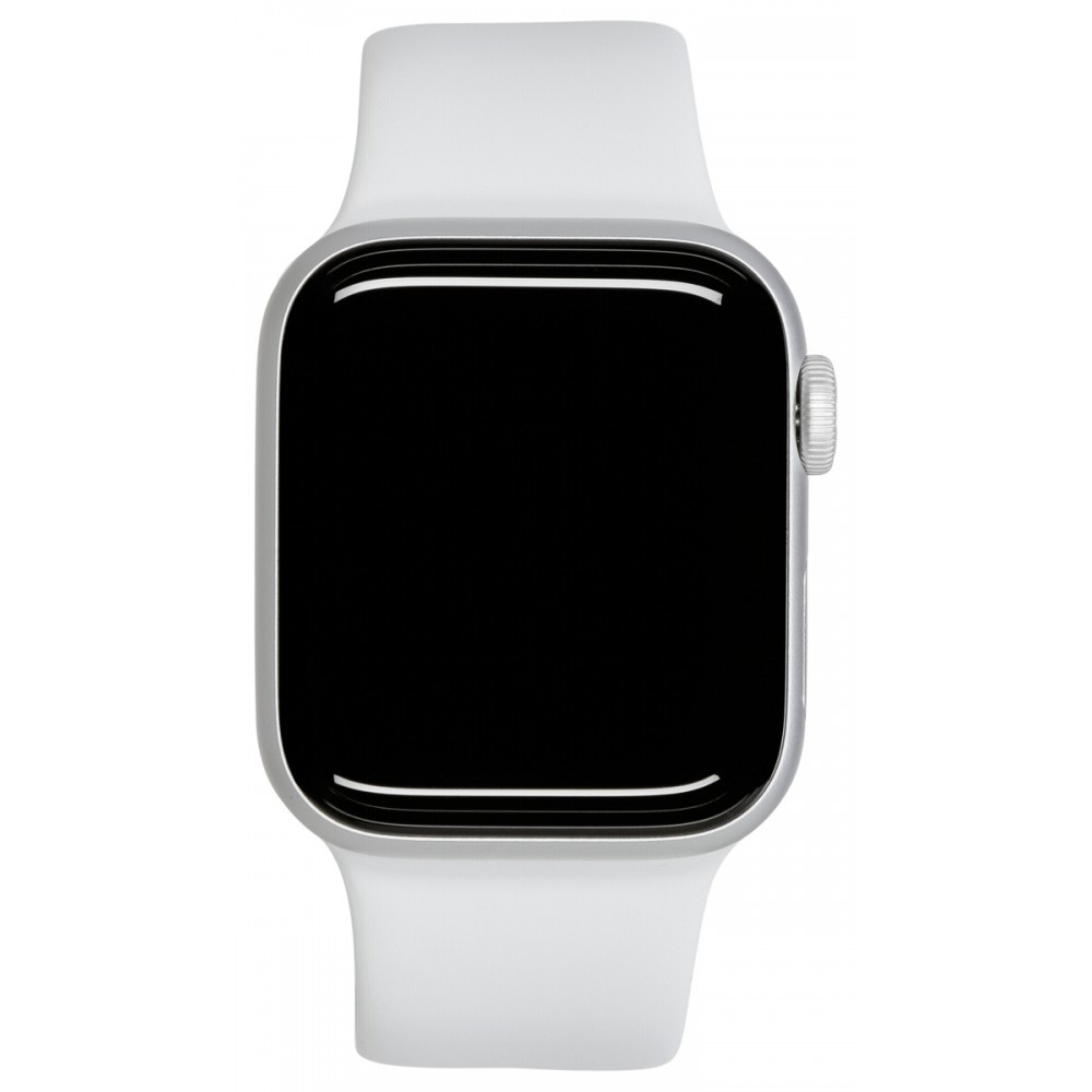 Afbeelding van Apple Watch Series 5 GPS 40mm Silver Alu Case White Sport Band