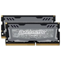 Sport LT 16GB Kit DDR4 8GBx2 2666 SODIMM 260pin grey SR