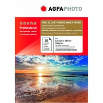 Professional Photo Paper High Gloss 260 g A 4 20 bl