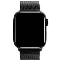 watch series 5 gps + cell 44mm steel case black loop