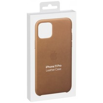 iphone 11 pro leather case saddle brown mwyd2zm/a