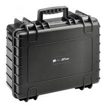 b&w tough case type jet5000 zwart met pockets inlay