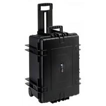 b&w outdoor case type 6800 zwart met schuiminleg