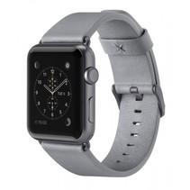 lederen band grijs apple watch 38mm f8w731btc02