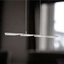 wofi led hanglamp verso 4lmp 4w vast ingebouwd 300lm