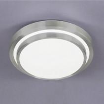 wofi led plafondlamp oslo 15w vast ingebouwd 1100lm