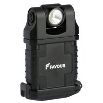 compacte led werklamp accu, 360 magneet-clip