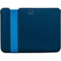 skinny sleeve small stretchshell neo navy blauw