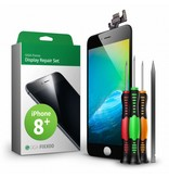 Giga Fixxoo iphone 8 plus display zwart complete set