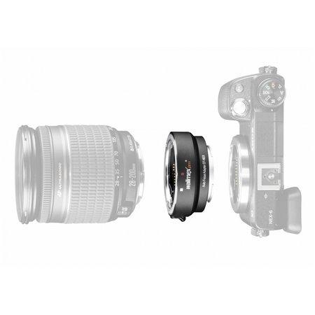 Walimex pro adapter canon ef objektiv op sony e mount camera