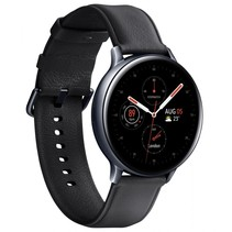 galaxy watch active2 stainless steel 44mm lte black