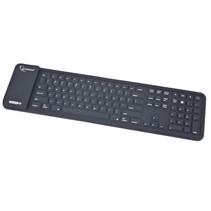 flexibel bluetooth toetsenbord, zwart, us layout