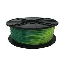 abs filament  blauw groen naar geel groen, 1.75 mm, 1 kg